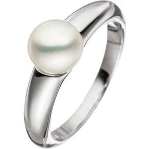 Jobo Perlenring 925 Silber mit einer Süsswasser-Zuchtperle
