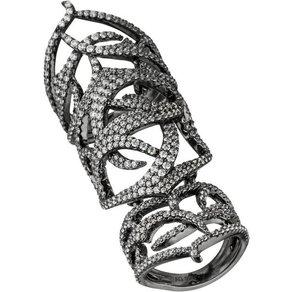 Jobo Fingerring 925 Silber mit Zirkonia