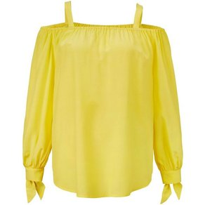 Sienna Carmenbluse in sommerlicher Trend-Farbe