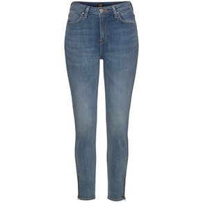 Lee Skinny-fit-Jeans Scarlett High mit Zipper am Saum