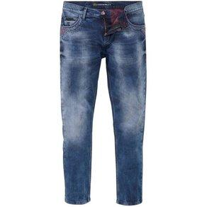 Cipo Baxx Regular-fit-Jeans Red Dot