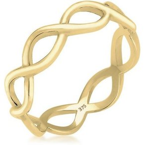 Elli Fingerring Infinity Trend 375 Gelbgold