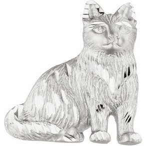 Jobo Kettenanhänger Katze 925 Silber