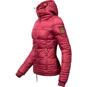 Marikoo Winterjacke Sole modisch taillierte Damen Steppjacke für den Winter