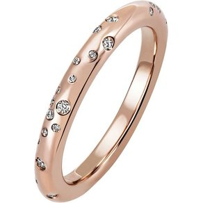 Jobo Diamantring 585 Rosegold mit 34 Diamanten