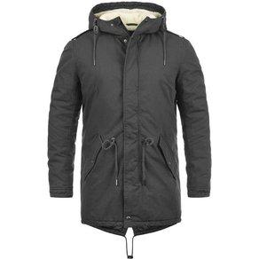 Solid Winterjacke Darnell warme Jacke lang geschnitten