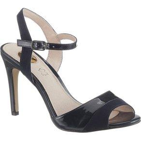 Buffalo High-Heel-Sandalette im eleganten Materialmix