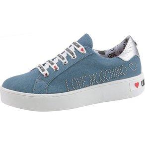 LOVE MOSCHINO Plateausneaker im lässigen Jeans-Look