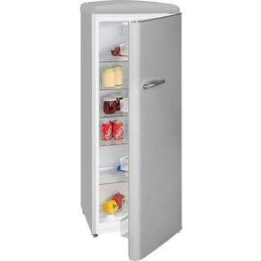 Exquisit Kühlschrank RKS 325-16 RVA GR 144 cm hoch 55 breit Retro
