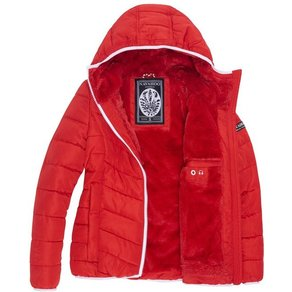 Navahoo Steppjacke Elva stylische Damen Winterjacke mit Kapuze