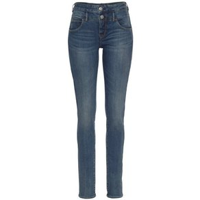Herrlicher Skinny-fit-Jeans BABY SLIM Normal Waist Push Up Effekt