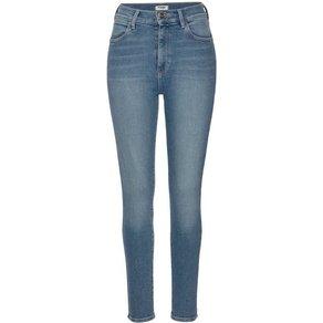 Wrangler High-waist-Jeans im 5-Pocket Style Comfort-Stretch