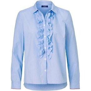 Conleys Blue Bluse mit Rüschen