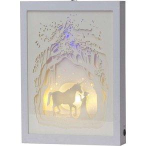Star LED-Bild mit Trafo oder Batteriebetrieb Scenery