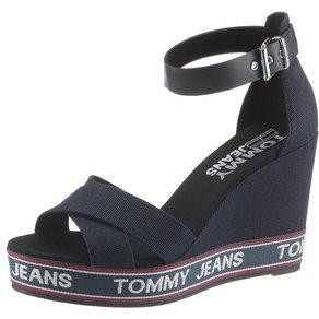 TOMMY JEANS Luna High-Heel-Sandalette mit Tommy Jeans Logo auf der Laufsohle