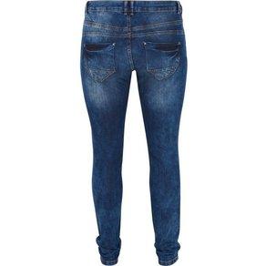 Zizzi Slim-fit-Jeans Sanna Grosse Grössen Damen Jeanshose Stretch