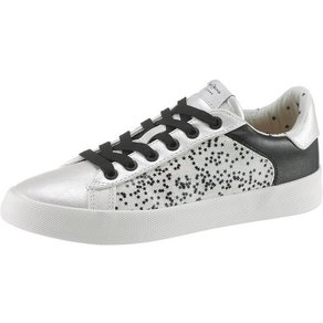 Pepe Jeans Kioto Stars Sneaker mit Sternchen-Print