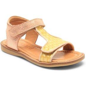 Bisgaard Sandale mit Glitter besetzt