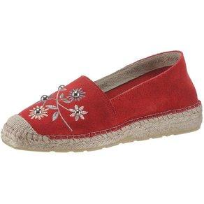 Betty Barclay Shoes Espadrille mit Blütenstickerei