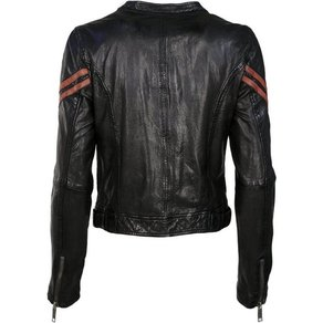 Maze Lederjacke im Bikerlook Powers