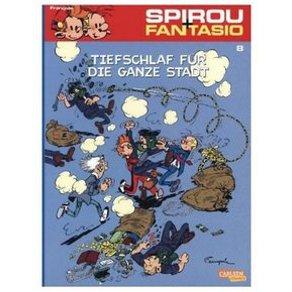 Carlsen Verlag Spirou Fantasio Tiefschlaf für die ganze Stadt