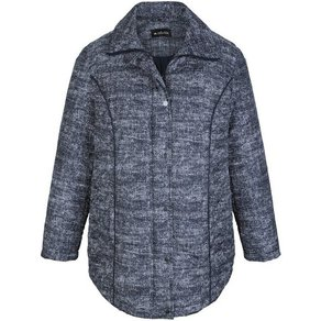 m collection Steppjacke mit dezentem Muster