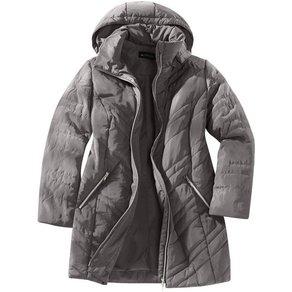 m collection Mantel rundum mit streckender Steppung