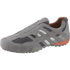 Geox U Snake Slip-On Sneaker mit praktischem Gummizug für leichten Einstieg