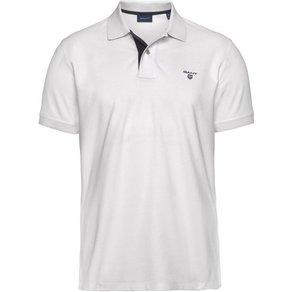 Gant Poloshirt Contrast Collar PIQ SS Rugger