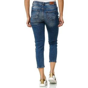 KAYAMARA Jeans in Used-Optik