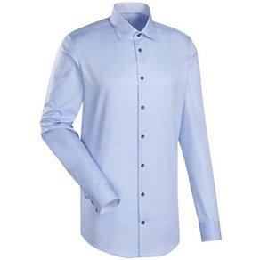 Jacques Britt Businesshemd Custom Fit Custom Fit Extra langer Arm Kentkragen Uni