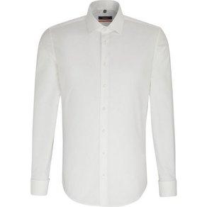 seidensticker Businesshemd Slim Slim Langarm Kentkragen Uni