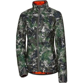 Parforce Damen Wendefleecejacke Tecl-Wood Signalfarbe