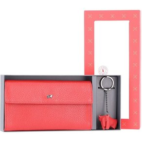 Braun Büffel Geldbörse Geschenkbox Leder 2tlg