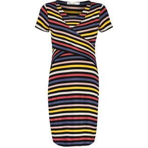 Queen Mum Still-Kleid nursing stripe