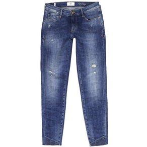 Le Temps Des Cerises Jeans mit modischer Applikation