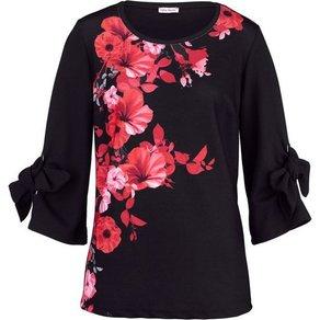 Alba Moda Shirt im wunderschönen floralem Dessin