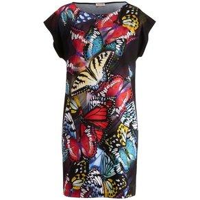 Alba Moda Strandkleid mit Schmetterlingsdruck