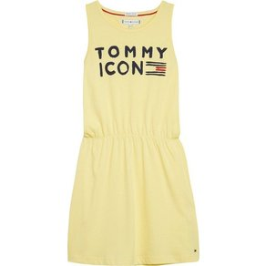 Tommy Hilfiger Kleid ESSENTIAL IC KNIT DRESS SLVLS