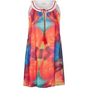 Alba Moda Strandkleid mit dekorativem Halsausschnitt