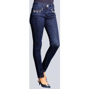 Alba Moda Jeans mit schmückenden Taschendetails