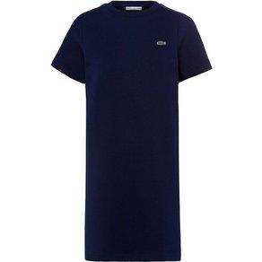 Lacoste Shirtkleid mit Farbeinsätzen an den Schultern