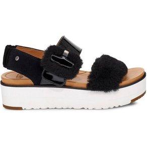 Ugg Fluff Chella Sandale mit verstellbarer Schnalle