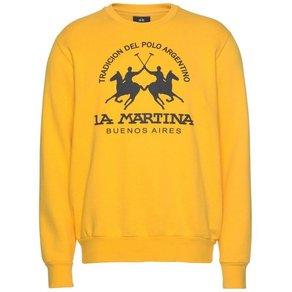 La Martina Sweatshirt MARQUISE mit grossem Logodurck