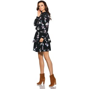 lemoniade Kleid mit modischem Muster