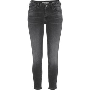 Mavi Skinny-fit-Jeans ADRIANA ANKLE in Crash- und Crinkle-Optik