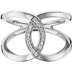 CAÏ Ring 925 Sterling Silber rhodiniert Topas