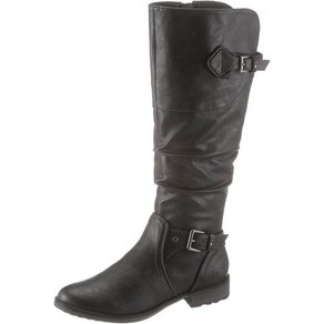 mustang shoes Mustang Shoes Stiefel mit leicht gerafftem Schaft