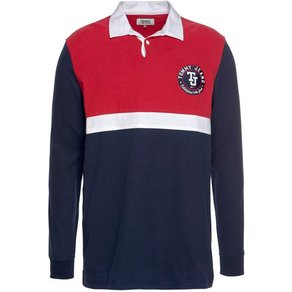 TOMMY JEANS Tommy Jeans Polo TJM GRAPHIC RUGBY