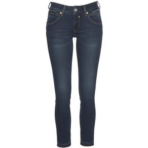 Herrlicher Skinny-fit-Jeans TOUCH CROPPED Low Waist Powerstretch